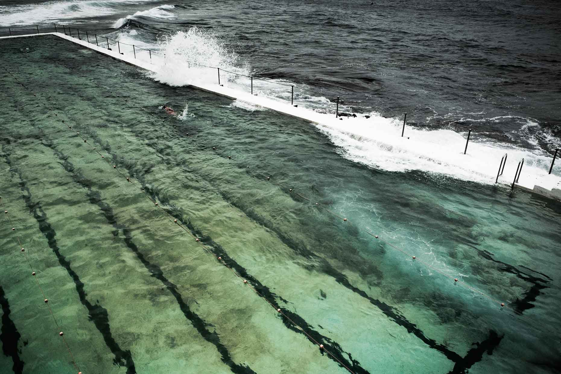 australia | sydney bondi beach pool tidal pools