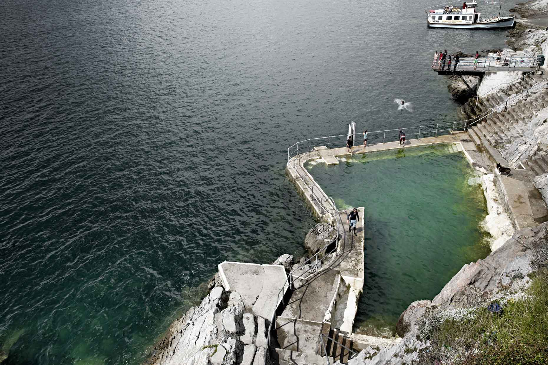 england | plymouth hoe tidal pool pools