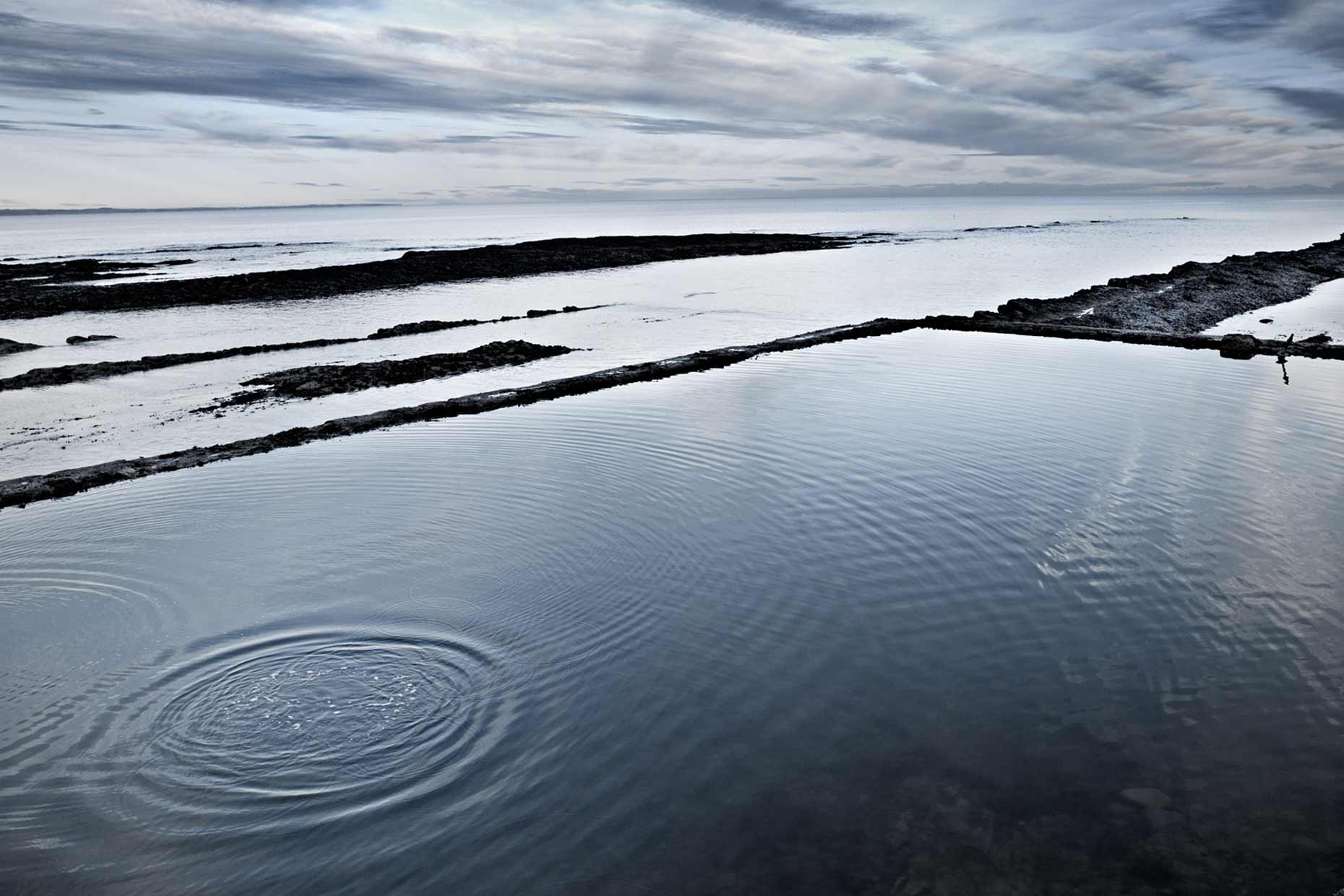 scotland | st. andrews st. andrews pool tidal pools