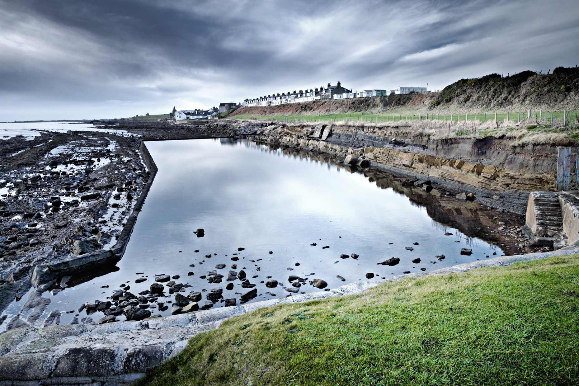 scotland | st. monans st. monans pool tidal pools