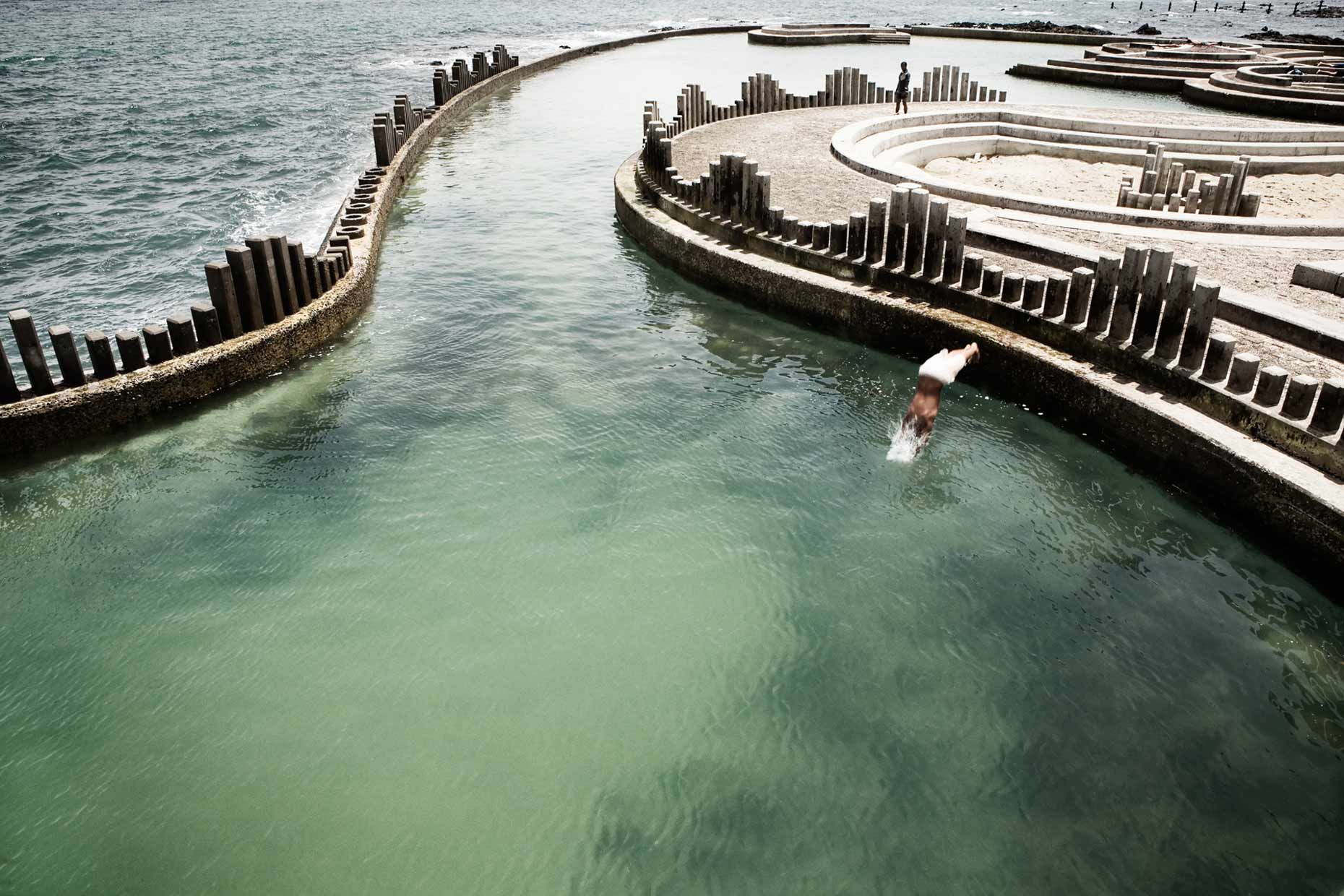 south africa | cape town harmony beach pool tidal pools