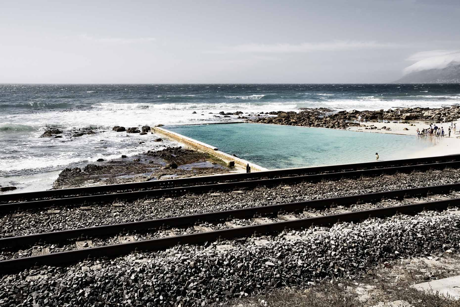 south africa | cape town st. james pool tidal pools
